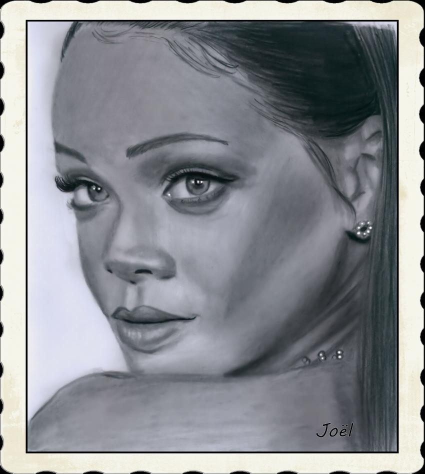 Rihanna by klk68